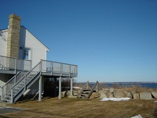 Biddeford house photo - Stairs to beach and deck