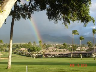 "Kaanapali condo photo - One Reason They Call the UNH Warriors ""The Bows"""