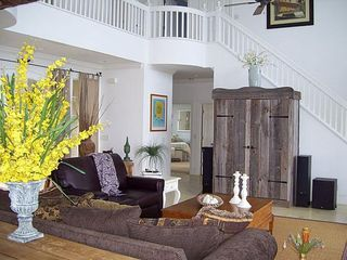 Fripp Island estate photo - .Living and stairs