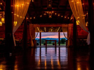 Wedding Barn at Dusk ask about additional pricing and coordination services.