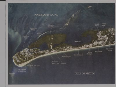Map of South Seas Resort