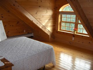 Sherman lodge photo - Third bedroom - sunrise over Berkshires and overlooks trout pond and 17th green