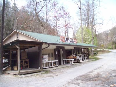 Bat Cave cabin rental - Near by Fruit Stand