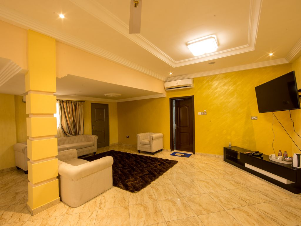 Luxury made affordable for all in a prime area of Accra Ghana.