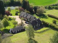 Contemporary Conversion In The Beautiful Grounds Of C15th Thatched House