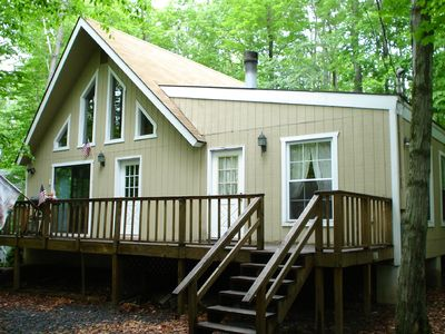 Arrowhead Lake chalet rental - outside