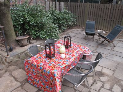 Backyard Bluestone Patio -