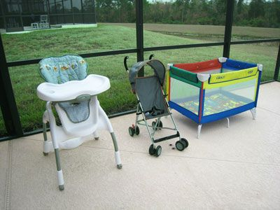 Emerald Island villa rental - Infant set