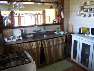Praia Preta house photo - Kitchen with sea view