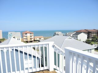 Carolina Beach house photo - Open Views from our Roof Deck