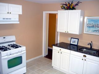 Lavallette house photo - New refrigerator & Microwave. Top Unit.