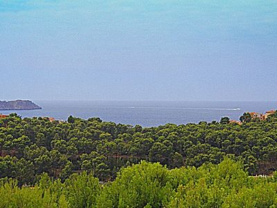 Villa in Peguera with stunning sea views close to the boulevard in a quiet area