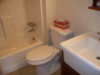 Estes Park cabin photo - Full bathroom in large cabin