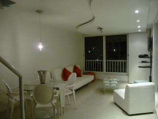 Isla Verde condo photo - Living Room & Dining Area
