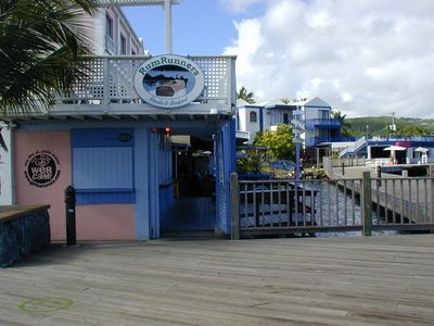 Rum Runners Restaurant on the Boardwalk. Great food and amazing views.