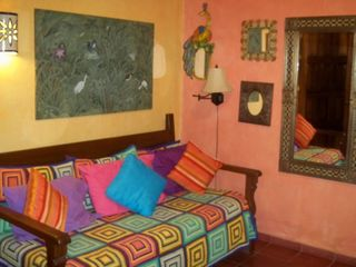 Sayulita house photo - ONE OF TWO LARGE DAYBEDS IN EACH BEDROOM