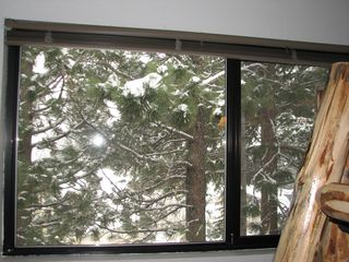 Mammoth Lakes condo photo - View from the loft