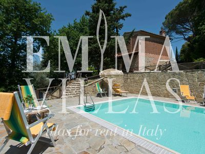 FRANTUSINA 4 sleeps, gracious Tuscan villa near Volterra and Pisa, with private pool, park, and splendid landscape view