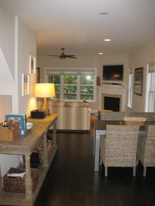 Rehoboth Beach house rental - View from Kitchen into Great Room