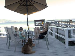 Nice house photo - Relaxing on deck