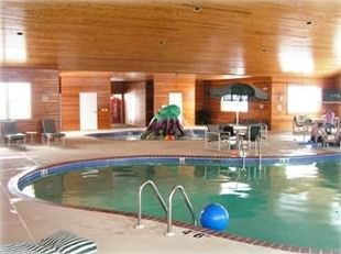 Poolhouse  includes: whirlpool, kiddie pool, exercise equip and showers