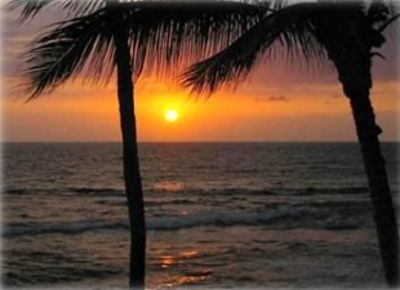 Kailua Kona condo rental - Again - you are not going to want to miss those stunning sunsets from the Lanai!