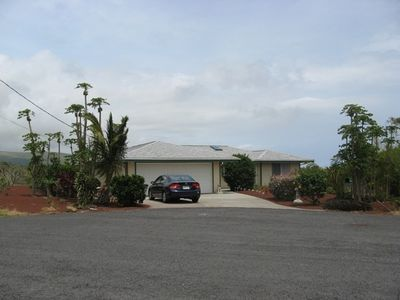 Naalehu house rental - Home from cul-de-sac