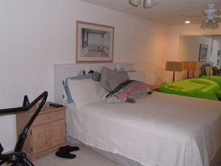 Gravois Mills house photo - Lower level bedroom, king bed with large closet. TV with Satellite/VCR