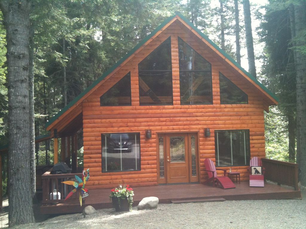 New cozy cabin near suncadia and lake cle elum vrbo for Cle elum lake cabins