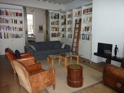 .3rd Le Marais apartment rental - Living room with sofa bed