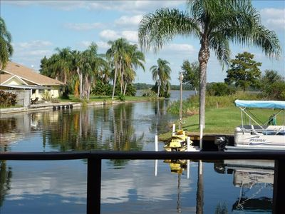 Located on Beautiful Lake Tarpon Canal