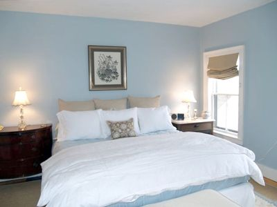 Well appointed bedrooms with quality linens, down comforters and ceiling fans
