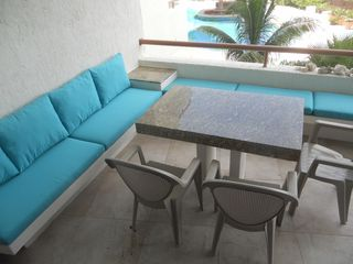 Isla Mujeres condo photo - Great outdoor seating with a view
