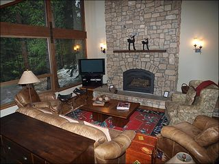 Vail townhome photo - The Centerpiece of This Home is the Large Grand Room with Stunning Views