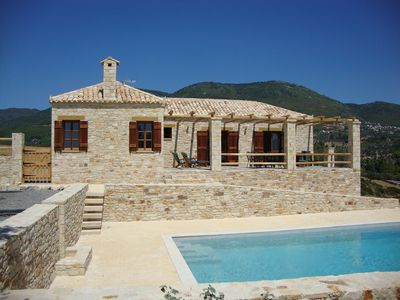 Stone Cottage With Private Pool And Sea Views On The Unspoilt Island Of Evia