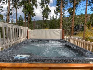 Breckenridge townhome photo - Relax in Your Own Private Hot Tub