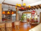 Puerto Vallarta house photo - Gorgeous remodeled kitchen boasts river and ocean views, dramatic entertaining.