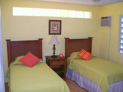 Vieques Island house rental - Lower Floor Bedroom