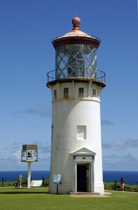 Kilauea Lighthouse.  Visit nene goose and frigates or watch whales and dolphin.
