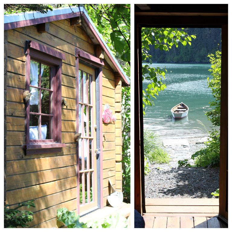 Between Beaches, Pioneer Cabin exceptional location! Kayaks & row boats included