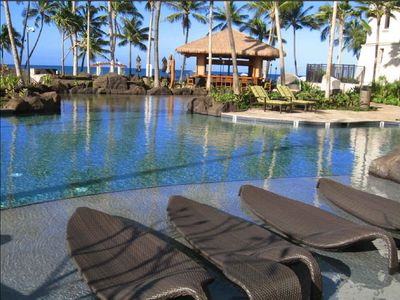 Ko Olina villa rental - Lagoon Pool, Spa, Sandy Bottom Kids Pool