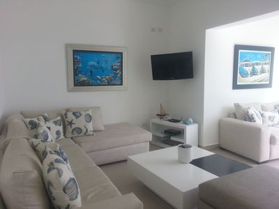 2-Bedroom Beachfront Condos on Sandy Beach with Sea Views and Pool, Jacuzzi