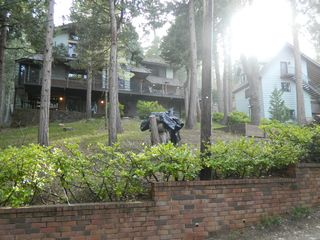 Lake Arrowhead cabin photo - Backside of property. Guest house @ right