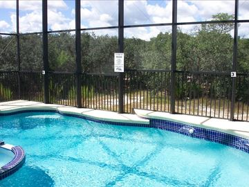 Pool with view of Conservation area