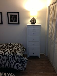Ocean Creek condo rental - Guest Bedroom with two twin beds