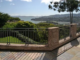 Tiburon house photo - SF bay, Golden Gate bridge, Corinthian and SF Yacht Clubs, Belvedere, Sausalito