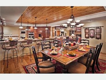 Steamboat Springs house rental - Open floor plan