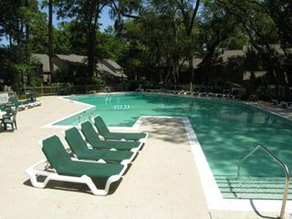 Sea Pines villa photo - Ours is one of the largest Villa pools in Sea Pines
