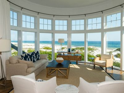WaterSound Beach - open and spacious living area, premier view in WaterSound