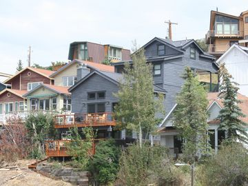 Park City house rental - 2 decks with panoramic views. Walk to down to Main St. restaurants, bars & c